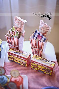Peanuts, popcorn, Circus theme!