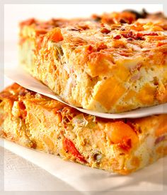 Something Special Deli Foods Ltd. - Recipes - Bacon, Sweet Potato and Antipasto Frittata