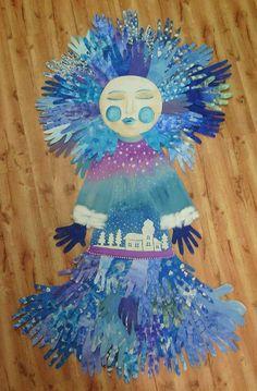Diy And Crafts, Arts And Crafts, Craft Activities, Classroom, Wreaths, Children, Crochet, Artwork, Christmas