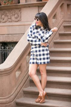 Gingham: From Spring 2015 Runway to Every Day Outfit