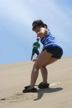 More and more female sandboarders are enjoying this amazing sport all over the world!