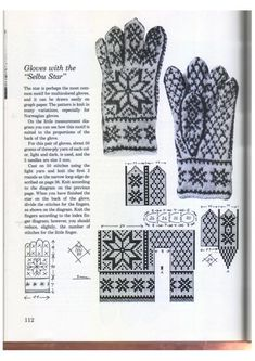 Knitting in the Nordic Tradition - Monika Romanoff - Picasa Web Albums Mittens Pattern, Knit Mittens, Knitting Socks, Knitting Stitches, Free Knitting, Knitting Patterns, Crochet Chart, Knit Crochet, Norwegian Knitting