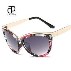 FEIDU 2016 Female Cat Eye Sunglasses Women Brand Designer Vintage Mirror Lens Sun Glasses For Women UV400 Oculos De Sol Feminino #clothing,#shoes,#jewelry,#women,#men,#hats,#watches,#belts,#fashion,#style