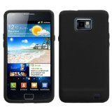Solid Skin Cover (Black) for SAMSUNG i9100 (Galaxy S 2) - Solid Skin Cover (Black) for SAMSUNG i9100 (Galaxy S 2)    Provides your Samsung i9100 Galaxy S II the maximum protection against scratches and scuffs.Made with grade A silica gel, this case i