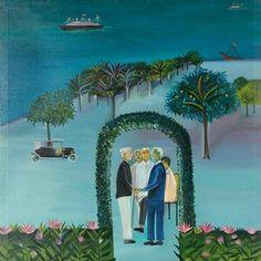 Bombay dreams: how painter Bhupen Khakhar captured the city spirit Modern Indian Art, Modern Art, Contemporary, Tracey Emin, Indian Artist, Surface Design, Illustration Art, Spirit, City