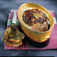 Pâté de campagne d'antan - Cuisine et Vins de France