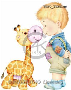 Alfredo, CHILDREN, paintings(BRTO39281cp,#K#) Kinder, niños, illustrations, pinturas