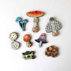Mushroom cookies // cookie boy
