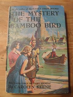 Vintage Nancy Drew Book  The Mystery of the Bamboo by Shoptastic, $8.00