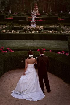 #Bodas #ideales en el #Parador de #LaGranja #jardín #wedding #love #novios
