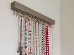 Awesome Awesome 15 Amazing DIY Jewelry Holder Ideas to Try – EnthusiastHome… - DIY Jewelry Crafts Ideen Jewellery Storage, Jewelry Organization, Diy Dreamcatcher Earrings, Diy Ombre Necklace, Antler Jewelry Holder, Diy Computer Desk, Hanging Jewelry, Jewelry Hanger, Jewelry Displays