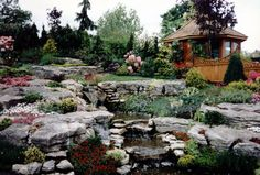 Rock Garden Ideas – Planning and Building a Rockery Garden