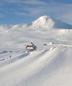 Home of kite-skiing - Finse, Norway