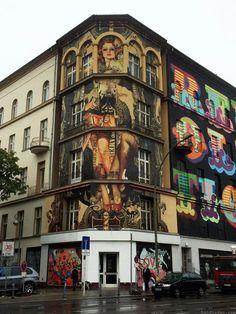 #Handiedan - Mural in #Berlin