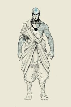 Fantasy Character Design, Character Design Inspiration, Character Concept, Concept Art, Avatar The Last Airbender Art, Avatar Aang, Character Sketches, Character Drawing, Tattoo Character