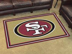 San Francisco 49ers 4x6 Rug