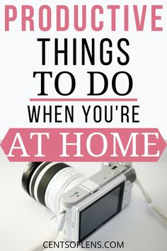 If you struggle with being productive at home, find out what some of the productive things you can do at home are today! #productivity #selfcare #stayathome #getstuffdone How To Better Yourself, Take Care Of Yourself, Improve Yourself, Becoming A Better You, How To Become, Productive Things To Do, College Survival, Productivity Hacks, Planning Your Day