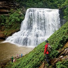 Burgess Falls State Natural Area in Tennessee, 3 breathtaking waterfalls
