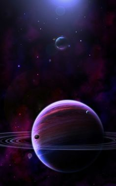 Some space art Here I tried to paint the galaxy and the stars in the background rather then using aphopysis or premade brushes. The Giant Outer Space Wallpaper, Planets Wallpaper, Nature Wallpaper, Galaxy Wallpaper, Wallpaper Wallpapers, Iphone Wallpapers, Galaxy Planets, Space Planets, Space And Astronomy