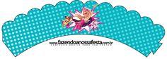 Saias Wrappers para Cupcakes Barbie Super Princesa
