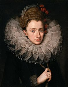 Frans Pourbus the Younger, attr. to, Portrait of a woman