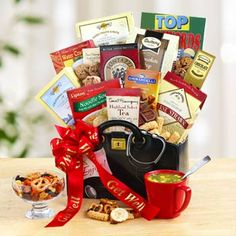 Feel Better Gift Box by The Gift Basket Pros and more gifts at discounted prices. Send Gift Basket, Get Well Gift Baskets, Diy Gift Baskets, Get Well Gifts, Cookie Baskets, Top 5 Christmas Gifts, Xmas Gifts, Valentine Gifts, Holiday