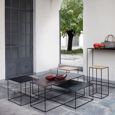 Slim Irony Small End and Side Tables - Shop timeless furniture handmade in Italy: tables, chairs, sideboards and cabinets - Home Décor and Interior Design ideas from Italy's finest artisans - Artemest