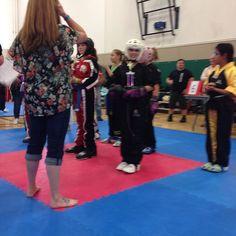 Look who won third place after three hard fights! #proudmama #karatekid #teamdouvris