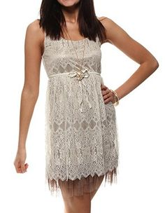 Scallop Lace Dress with Tulle, inspired by The Great Gatsby