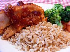 Gluten Free Crockpot Cranberry Chicken
