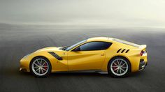 """Tdf? Don't worry, it's not a Ferrari turbo diesel. The F12tdf is a new track-spec F12 coupe, with """"tdf"""" paying homage to the Tour de France -- not the French bicycle race, but ..."""
