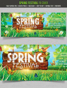 Spring Festival  Facebook cover