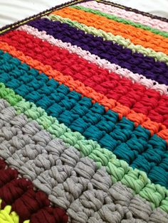 ALL MY HANDMADE CROCHET RAG RUGS HAVE BEEN MASSIVELY REDUCED IN PRICE. MANY ARE 50% OFF TILL MAR 1, 2016 https://www.etsy.com/shop/MoonInspired?ref=hdr_shop_menu