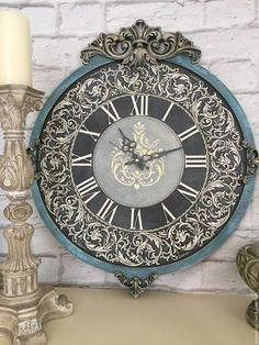 Mens Luxury Watches Ceramic Bezel Sapphire Glass Luminous Quartz Silver Gold Two Tone Stainless Steel Watch (Gold Blue) – Fine Jewelry & Collectibles Clock Painting, Clock Art, Diy Clock, Clock Decor, Art Deco Watch, Plaster Art, Antique Clocks, Arte Popular, Luxury Watches For Men