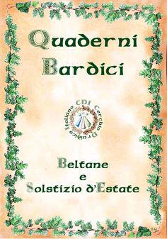Quaderni Bardici - Beltane Alban Hefin