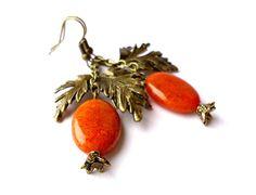 Free shipping.Gemstone earrings.Stone earrings. by Jewelry2Heart