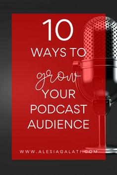These are ways to organically grow your podcast audience. Word Of Mouth, Business Entrepreneur, Female, Words, Blog, Blogging, Horse