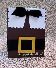 quick Thanksgiving card - no info on the website, but looks easy enough
