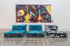 Street Art Inside chez Roche Bobois
