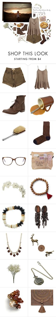 """raindrops in the dirt"" by whimsical-angst ❤ liked on Polyvore featuring American Apparel, Sans Souci, Vintage Shoe Company, Falke, Victoria Beckham, Wet Seal, Akola, Viktoria Hayman, Kate Spade and Miss Selfridge"