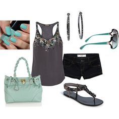 I love this outfit!! The shoes r adorable and I love the purse'