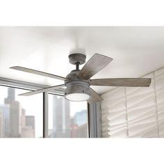 Home decorators collection 52 in indooroutdoor weathered gray indooroutdoor weathered gray ceiling fan amazon aloadofball Images