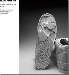 Obama Force One Sneakers by Jim Lasser of Weiden+Kennedy Studio