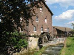 Flour mill, Graanmolen van Eijsden, Eijsden, the Netherlands.
