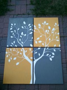 Jessica's Musings: Tree Paintings!