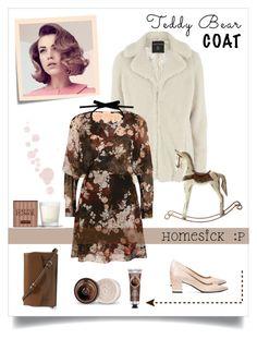 """homesick #2"" by xanthik ❤ liked on Polyvore featuring Dorothy Perkins, Post-It, Vera Bradley, River Island, Vjera Vilicnik, The Body Shop and Henri Bendel"