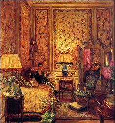 The Voiles de Gênes Boudoir 1931. Edouard Vuillard (1868-1940)