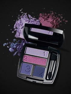 Ultra Color Cuarteto Sombra para Párpados Purple Pop #AvonMakeup #Sombras
