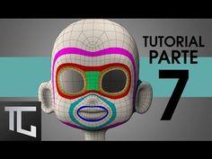 TUTORIAL TOPOLOGÍA BÁSICA EN TOPOGUN PARA RIG FACIAL ::: Parte 7 - YouTube