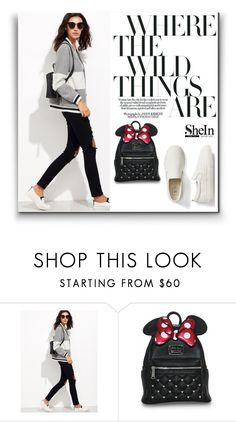 """""""Shein"""" by kissmechuckbass ❤ liked on Polyvore featuring Gap"""